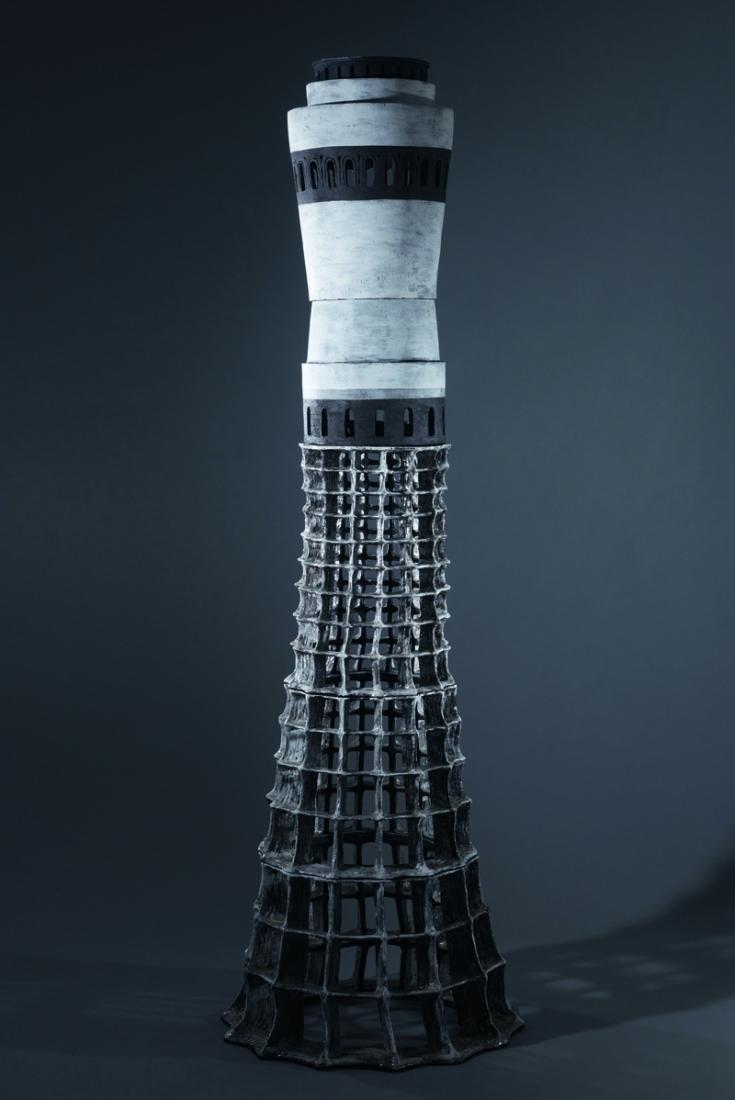 Sammeln-2017-Terrakotta-glasiert-222-x-70-x-70-cm