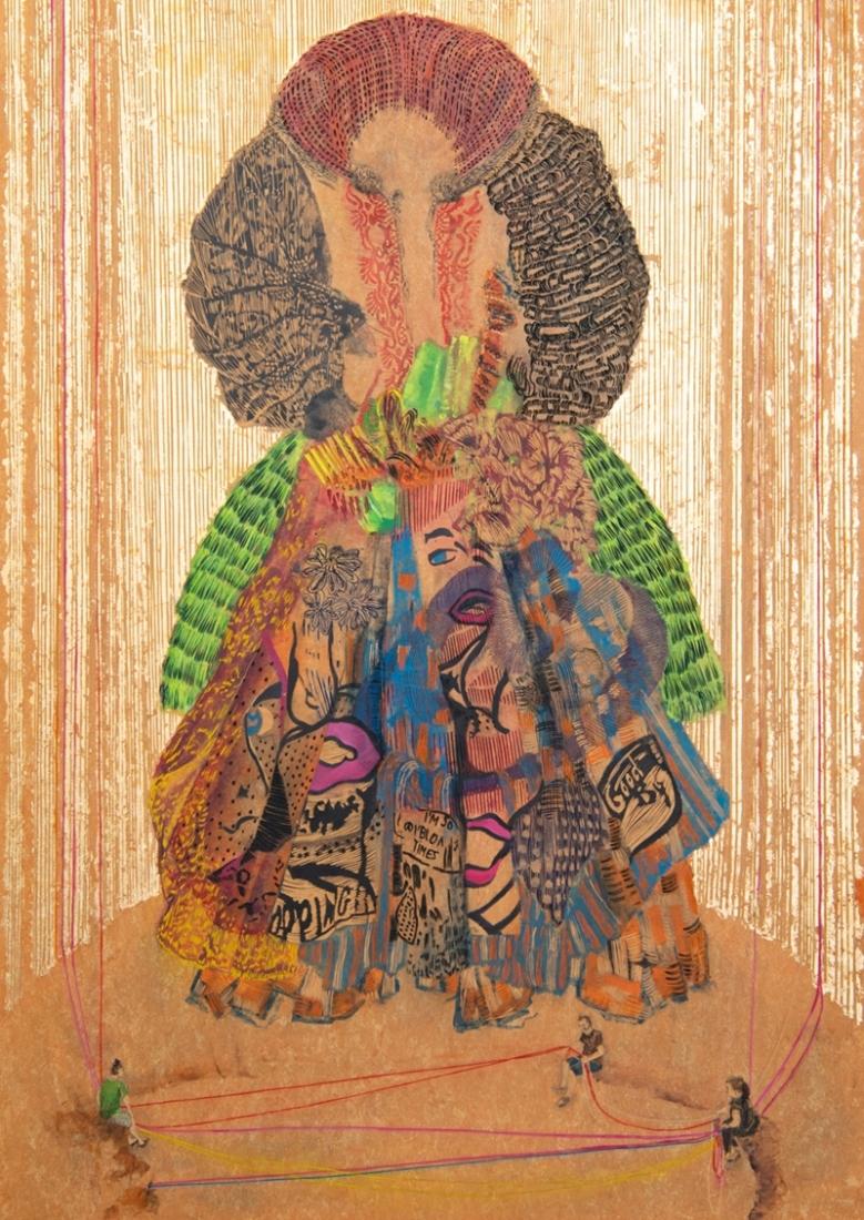 Leute-machen-Kleider-oder-andersrum-IV2020171-x-121-cmLinoleumAlkydfarbe