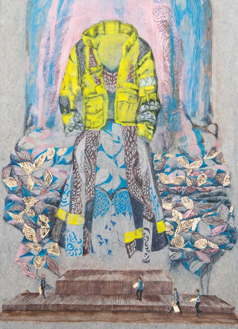 Leute-machen-Kleider-oder-andersrum2020171-x-121-cmLinoleumAlkydfarbe