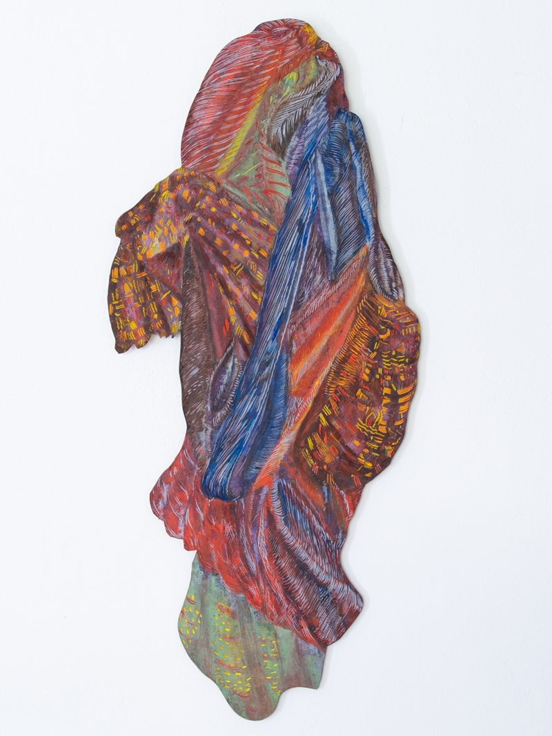 Unterwegs-IV201990-x-39-cm-LinoleumALkydfarbe