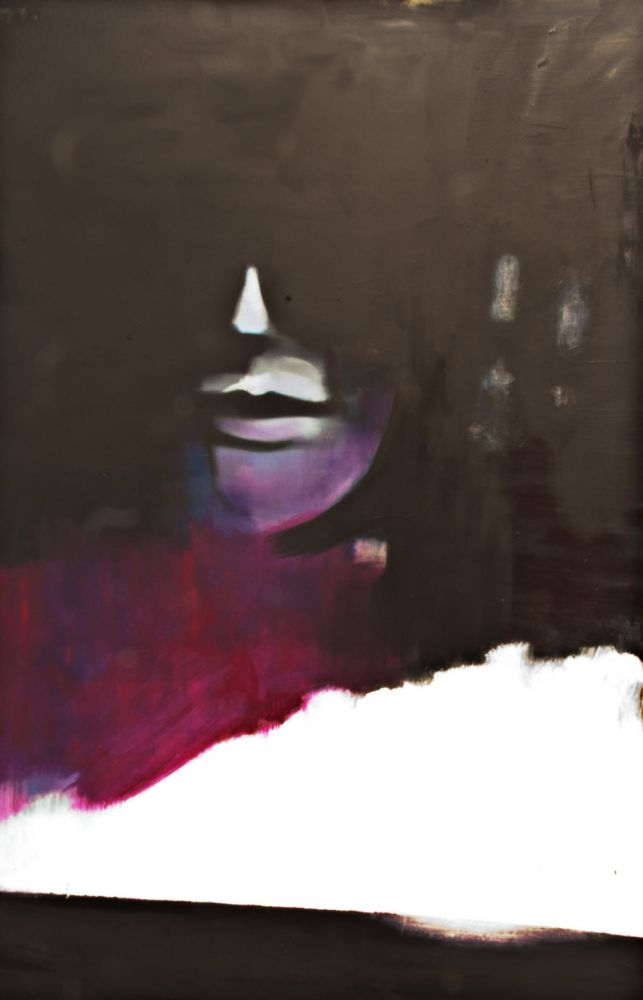 Ohne-Titel-Street-Hooker-2019-ol-und-Lack-auf-Leinwand-146-x-95-cm